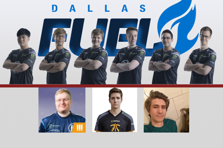 with the addition of xqc the dallas fuel roster is complete by