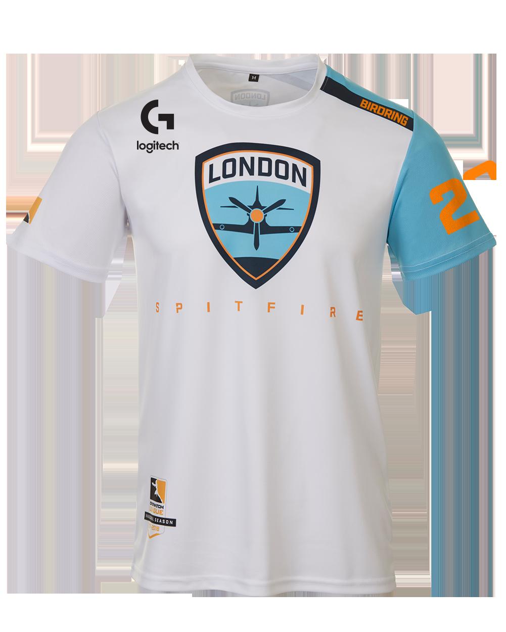 Spitfire's new jersey. Source: London Spitfire